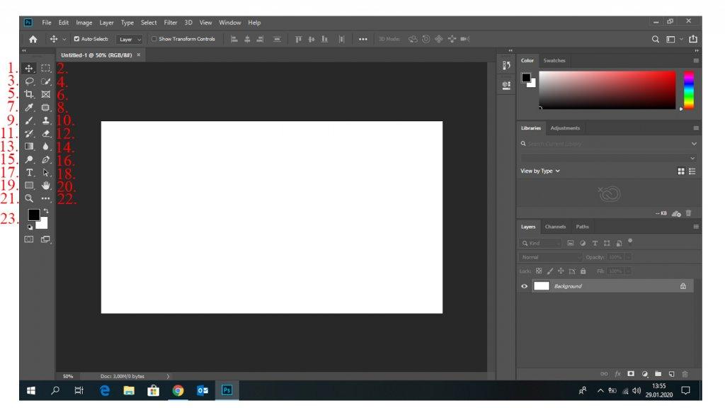 Adobe Photoshop Araçlarını Tanıyalım