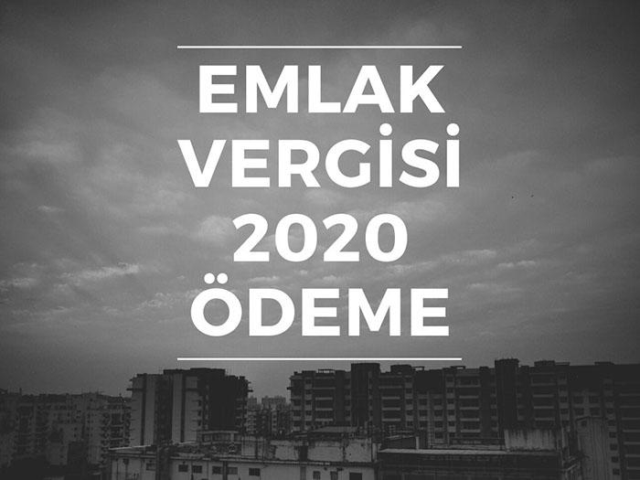emlak vergisi 2020