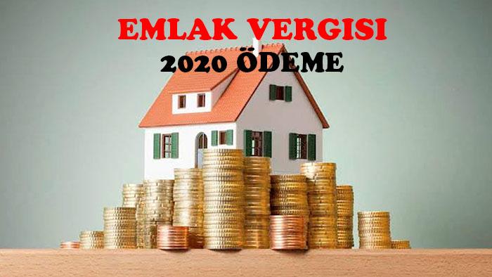 emlak vergisi 2020 ödeme