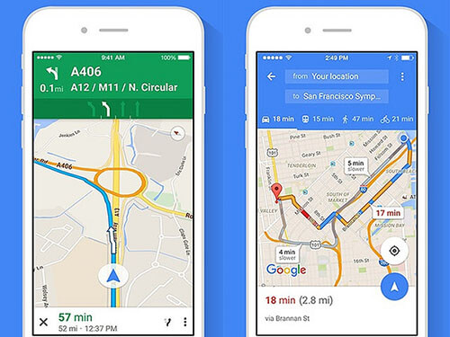 google navigasyon ayarları