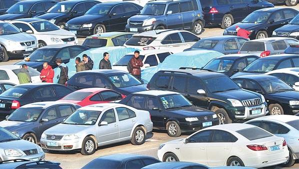 ikinci el araba pazarı