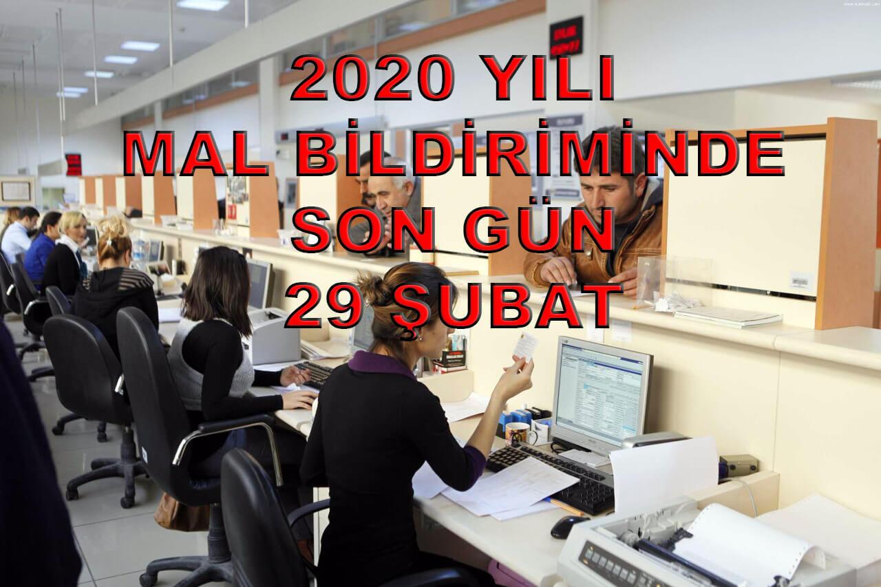Mal Bildirimi 2020