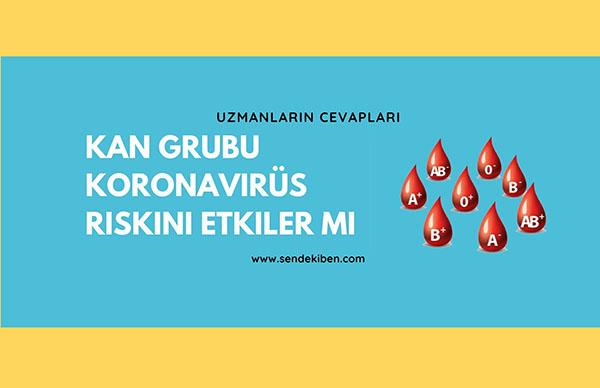 kan grubu koronavirüs