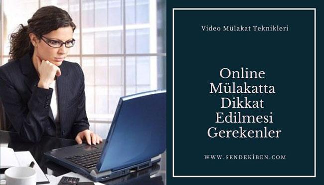 video mülakat