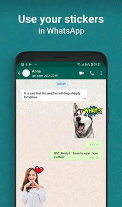 whatsapp çıkartma yapma