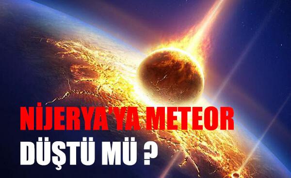 nijerya meteor