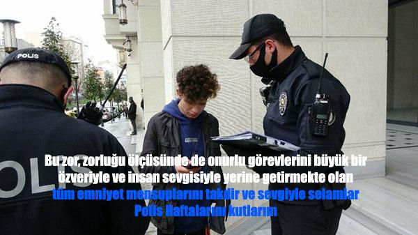 resimli polis mesajları