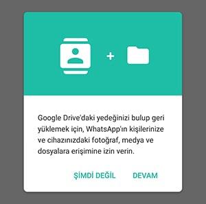 Whatsap silinen mesajları görme