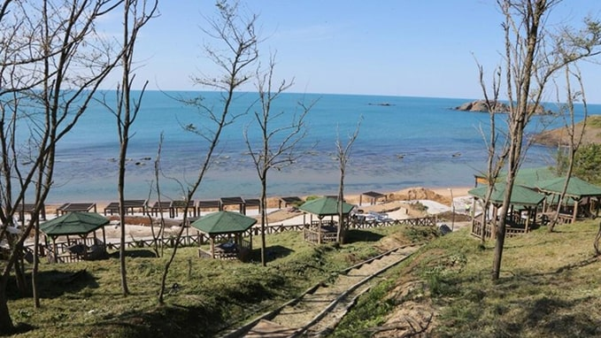 Riva elmasburnu plajı