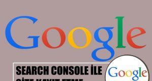 google site kaydı nasıl yapılır