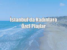 İstanbul'da kadınlara özel deniz