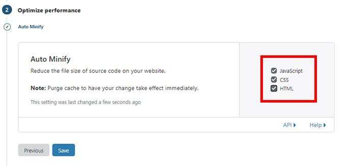 Wordpress Cloudflare ayarları