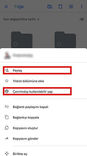 Google Drive Çevrimdışı kullanma