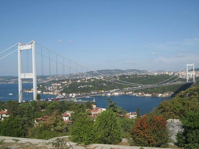 İstanbul'da boğaz manzaralı yerler