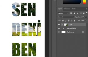 Photoshop Create Clipping Mask