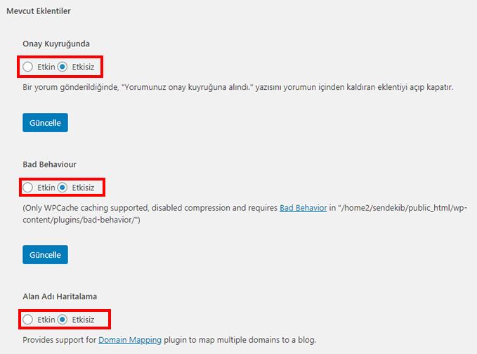 Wordpress cache kullanımı