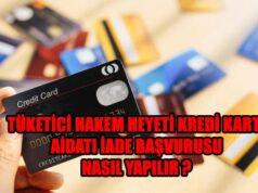 kredi kartı aidatı iade