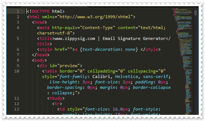 HTML Kodlar ile Mail İmza Nasıl Yapılır?