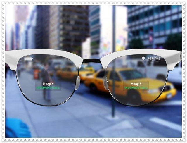 Her Yeri Ekrana Çevirecek Akıllı Gözlükler