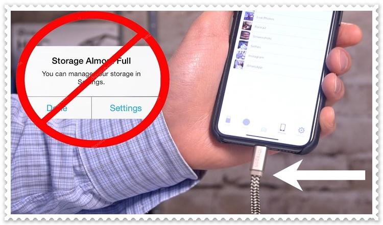 iPhone ve iPad Depolama Alanı Arttırma